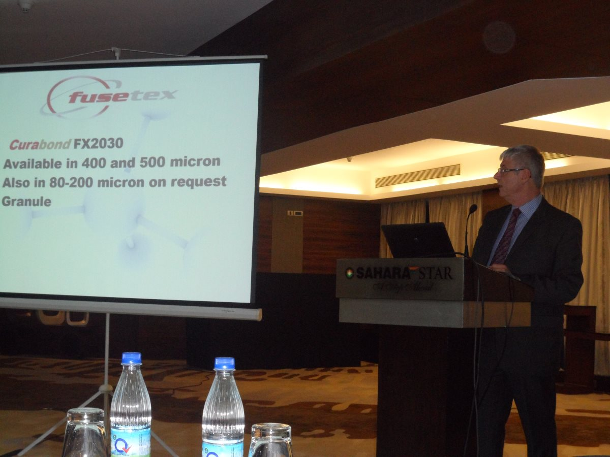 Presentation on cross-linkable hot melt powders, Mr Terry Lomax